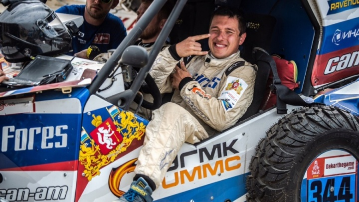 Сергей Карякин потерял время из-за аварии и финишировал 19-м на седьмом этапе «Дакара»
