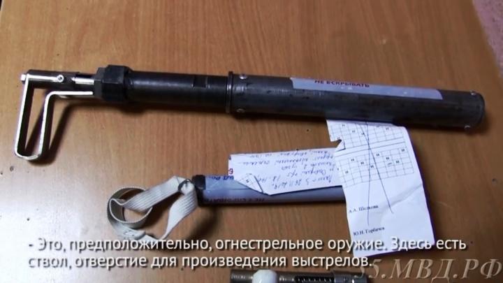 У омского пенсионера в сейфе нашли самодельные пистолеты, арбалеты и сюрикены