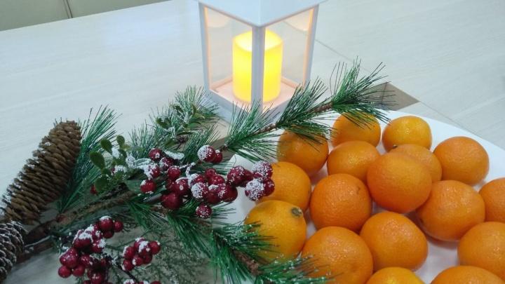 Собираем мешок мандаринов: Е1.RU запустил новогоднюю игру, в которой можно получить приз