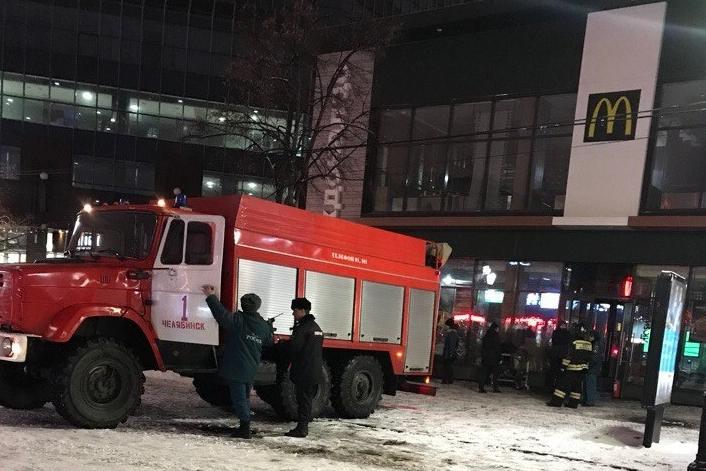 Пожарные приехали на вызов оперативно