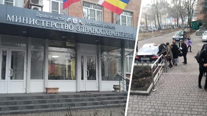 Глава донского Минздрава Татьяна Быковская вышла на работу