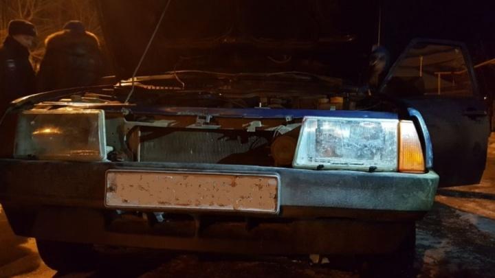 На трассе в Башкирии лихач сбил пешехода и скрылся места ДТП