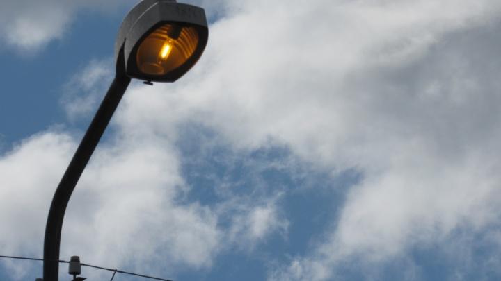На улице Радионова в Кургане появилось освещение за 2 миллиона рублей