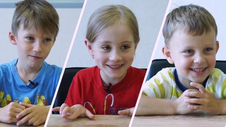 Объясняют дети: в честь кого назвали Екатеринбург и где в городе лучше всего
