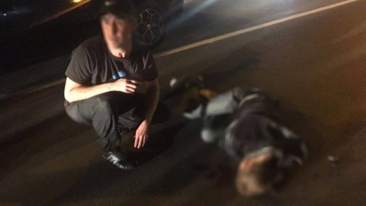 В башкирском городе водитель сбил пешехода, переходившего дорогу