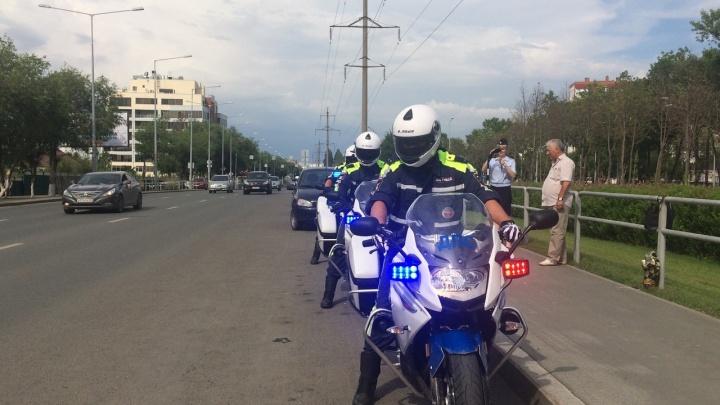 В Самаре инспекторы ДПС будут ездить на мотоциклах BMW