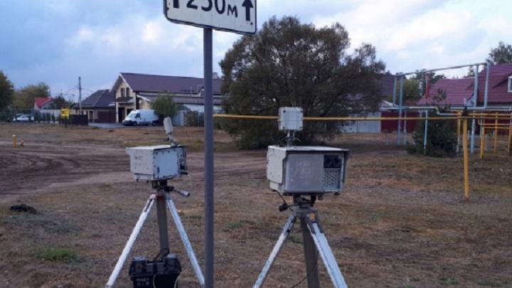 Треноги слишком близко к дороге: Госавтоинспекцию отчитали за камеры фиксации нарушений ПДД