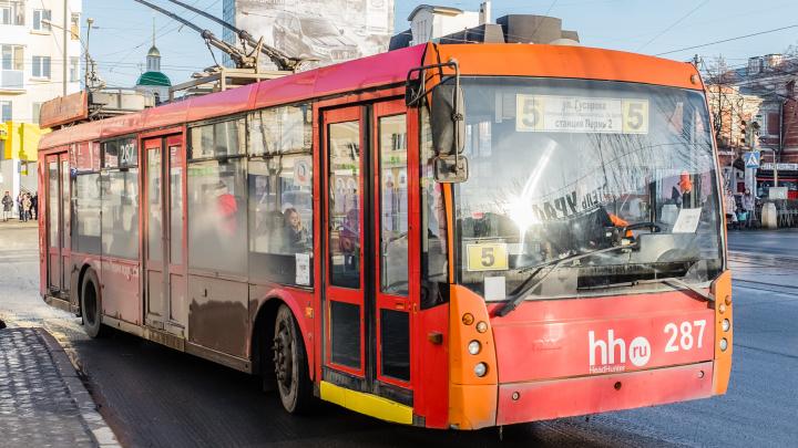 Пермские троллейбусы не будут отдавать безвозмездно, а продадут на аукционе