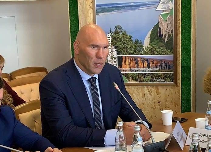 Николай Валуев в комитете по экологии и охране окружающей среды