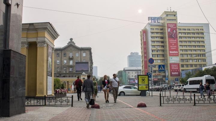 Закрывайте окна: синоптики рассказали, когда из Новосибирска исчезнет дым