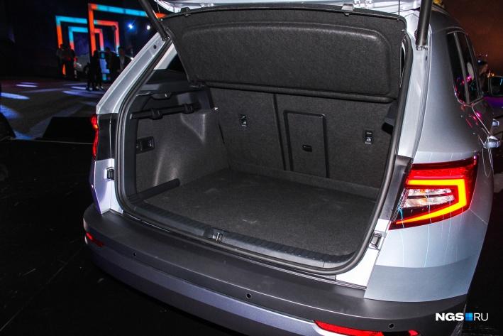 500-литровый багажник