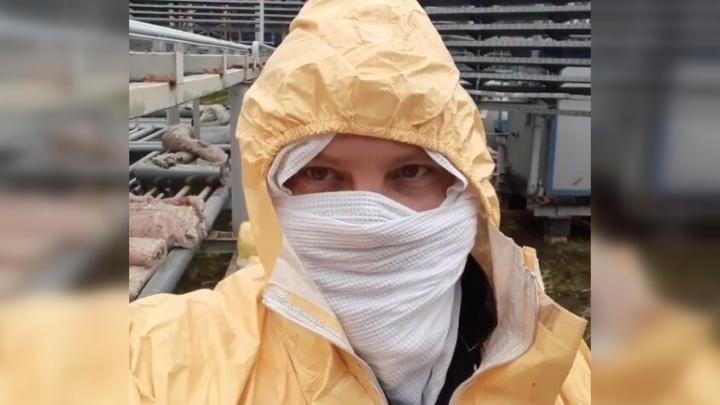 «Вызываю вас на дуэль на стекловате»: тюменец поддержал#ЗолотовЧеллендж