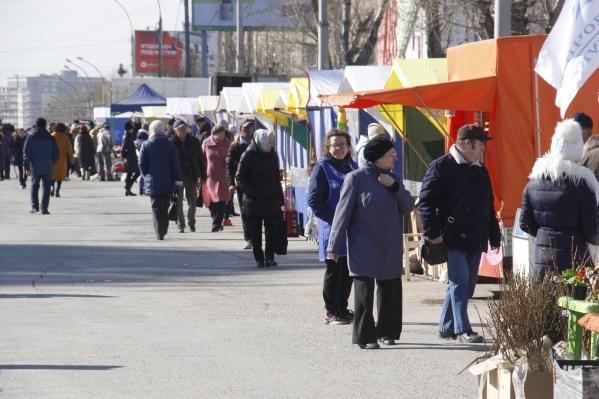 Свои товары на площадь привезли больше 150 предприятий