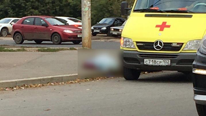 В Уфе пожилая женщина скончалась прямо на дороге