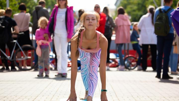 ЗОЖ, спорт и зиплайн: как челябинцы отмечали День физкультурника