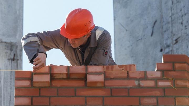 В Волгоградской области продолжает сокращаться жилое строительство