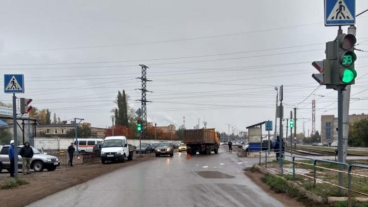 Не посмотрела по сторонам: в Салавате грузовик сбил пенсионерку на пешеходном переходе