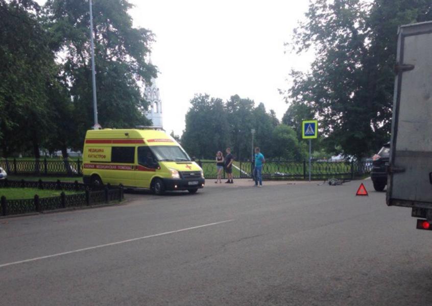 Авария произошла на улице Почтовая