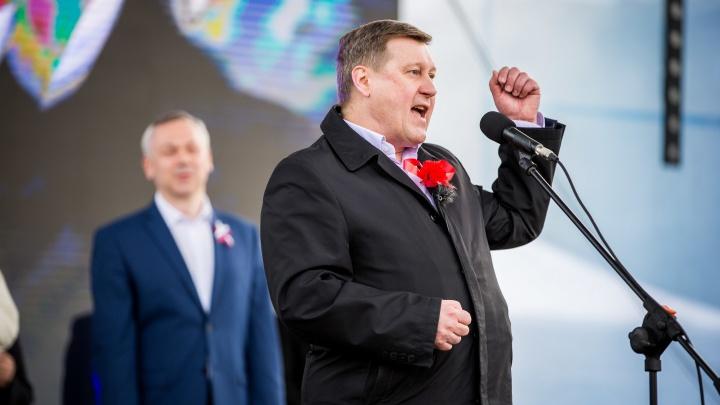 Мэр Новосибирска заявил, что благодарен сборщикам подписей в свою поддержку
