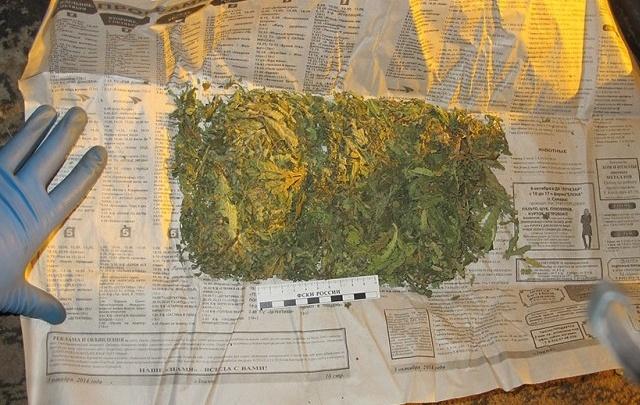 У жителя зауральского села, подозреваемого в краже, дома обнаружили марихуану