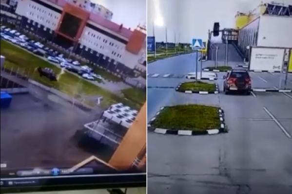 Водителю удалось скрыться с места ДТП