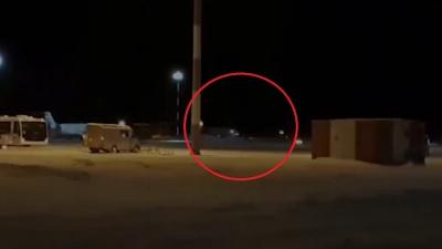 Появилось видео аварийной посадкиSukhoi Superjet в Тюмени