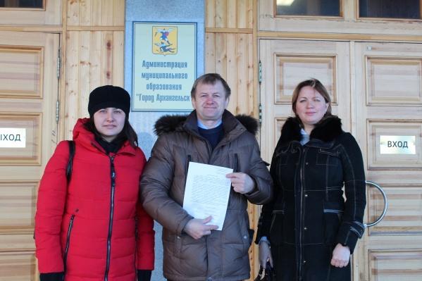 Активисты требуют от администрации города соблюдения конституционного права на мирные собрания