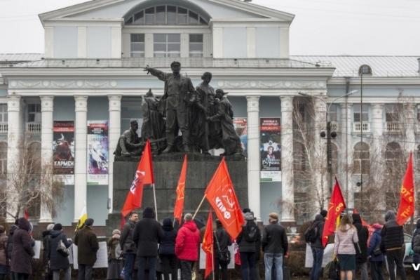 Волгоградцам сохранили главные места для демонстраций