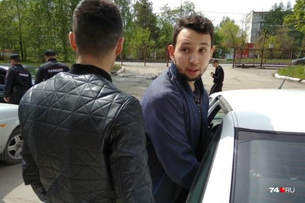 Золотаревского сразу из больницы доставили в суд, где вынесли решение об аресте