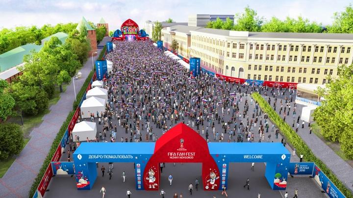 Футбол и шоу: 14 и 15 июля в центр Нижнего Новгорода — только пешком