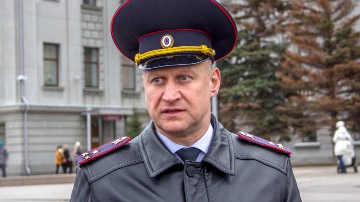Начальнику полиции Самары Дмитрию Блохину присвоили почетное звание