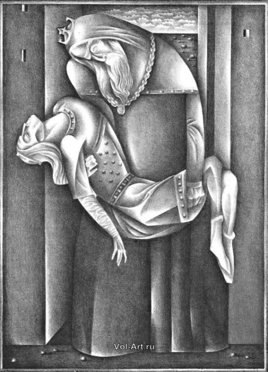 Здесь и ниже — иллюстрации к средневековому рыцарскому роману о Тристане и Изольде