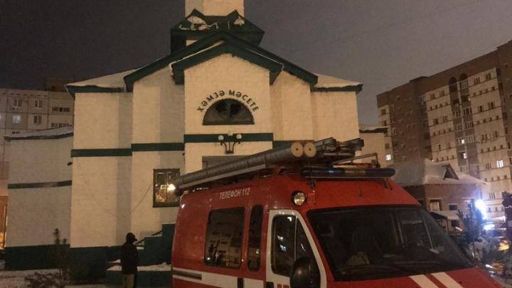 В Уфе ночью горела мечеть