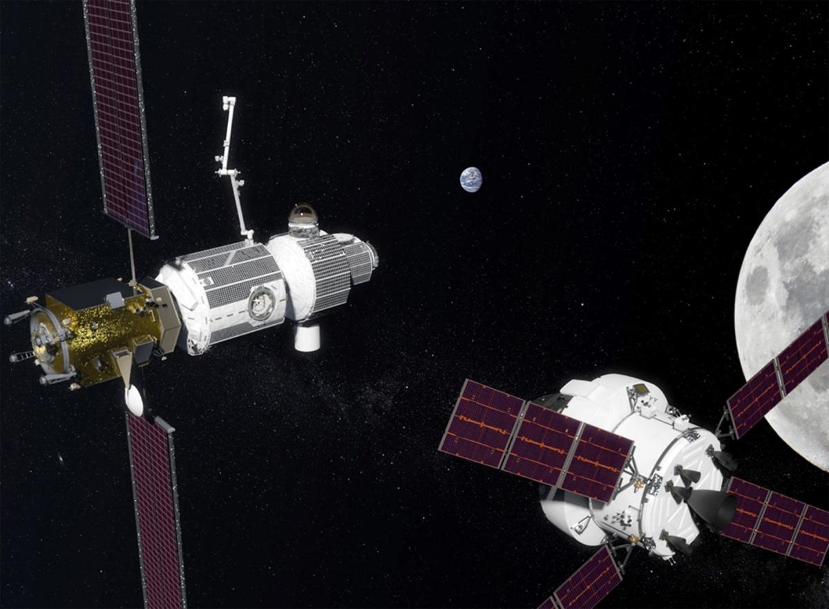 Концепт лунной орбитальной станции Lunar Orbital Platform — Gateway (LOP-G)