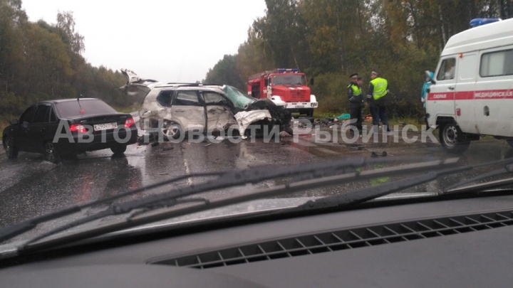 Страшное ДТП на дороге Ярославль — Рыбинск: погибли пять человек. Фото и видео с места аварии