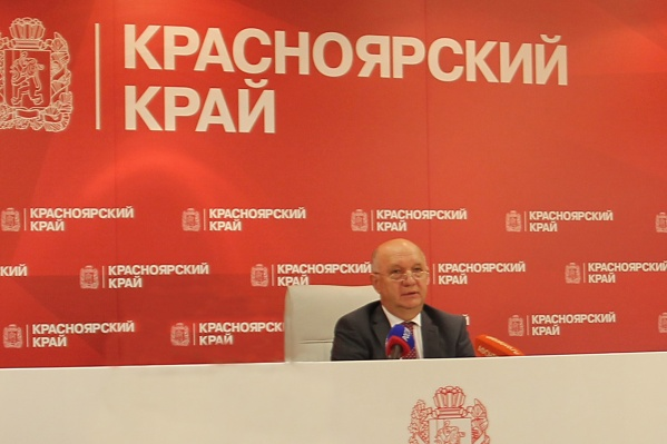 Виктор Новиков,руководитель агентства труда и занятости населения Красноярского края