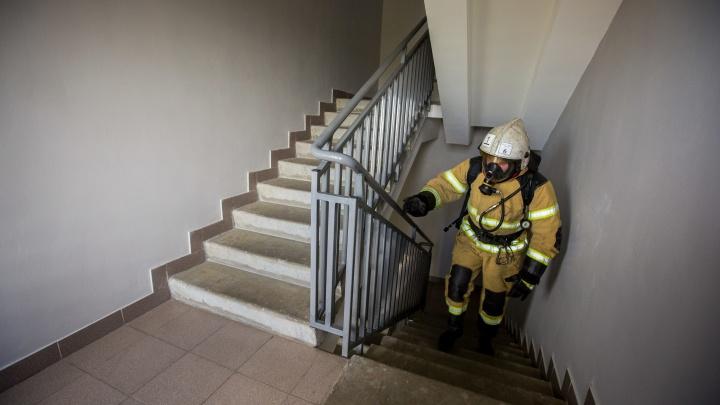 На Затулинке 30 человек выбежали из квартир из-за дымовой шашки в лифте