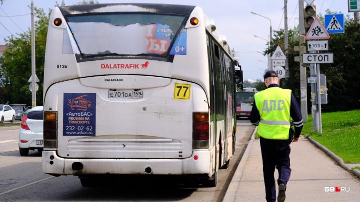 Операция «Автобус»: после ДТП на Гайве ГИБДД массово проверяет транспорт всех перевозчиков