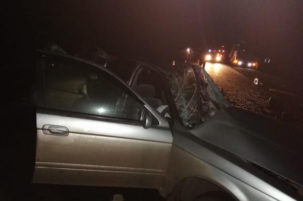 Обе машины серьёзно пострадали