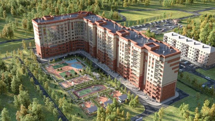 В новый год с новой квартирой: семейные двушки-студии продают от 9505 рублей в месяц