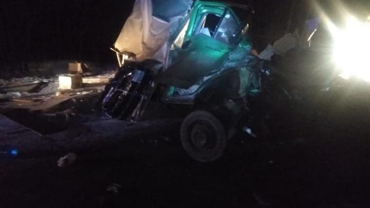 На трассе в Башкирии столкнулись автоцистерна и «Газель»: погиб водитель