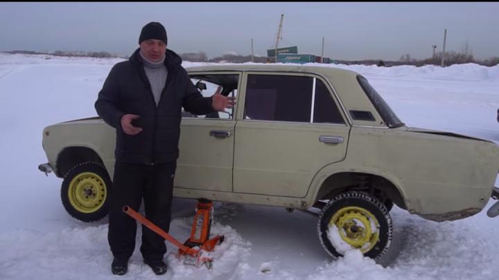 Новосибирские видеоблогеры приварили карданный вал напрямую к двигателю машины