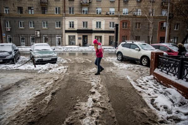 В Новосибирске ожидается потепление до –1, а в области — до плюсовых температур