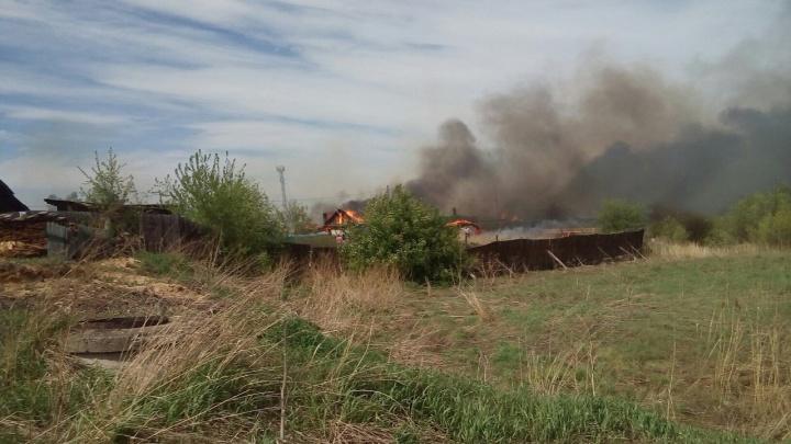 Страшные пожары в крае унесли первую жизнь