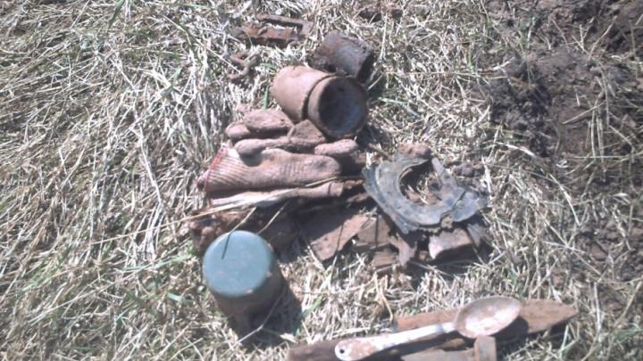 Записку сохранила гильза: под Новгородом нашли останки южноуральца, погибшего на фронте