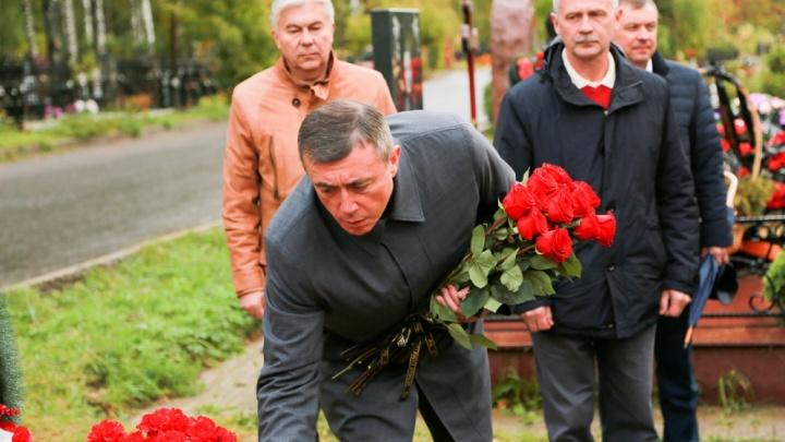 Губернатор Сахалинской области прибыл в Саров почтить память учёных, погибших под Северодвинском