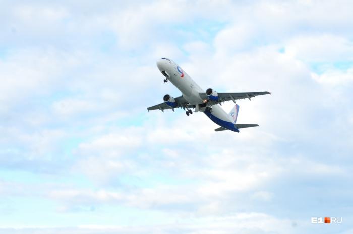 Самолёт вернулся в Екатеринбург, не долетев до Краснодара