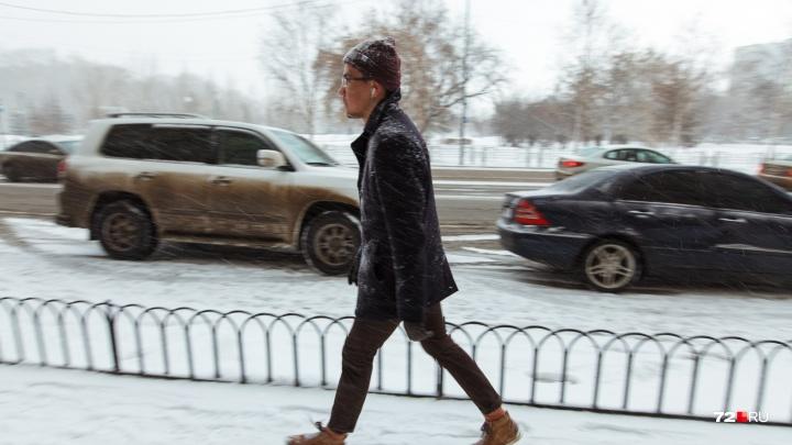 Тепло и снежно: синоптики рассказали, какую погоду ждать тюменцам в первые рабочие дни января