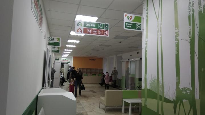 На стенах нарисовали оленей: в Самаре закончился ремонт детской поликлиники на Енисейской