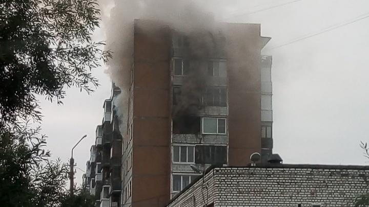В утреннем пожаре в Архангельске погиб пенсионер